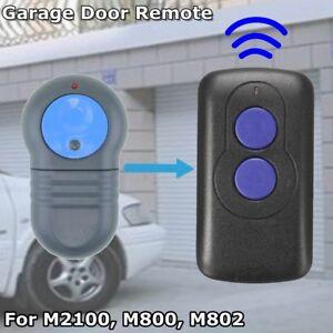 Compatible Garage Door Remote Control For Merlin M802 Blue