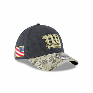 916f0cec6dc NEW YORK GIANTS 2016 New Era 39THIRTY Salute To Service Cap Hat L XL ...