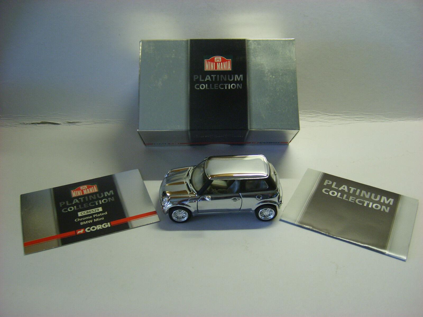 Envio gratis en todas las ordenes Corgi-CC86529-BMW Mini Mini Mini en Chrome  Platinum Coll  1 36 Escala  inicial del segundo nombre. B.  Descuento del 70% barato