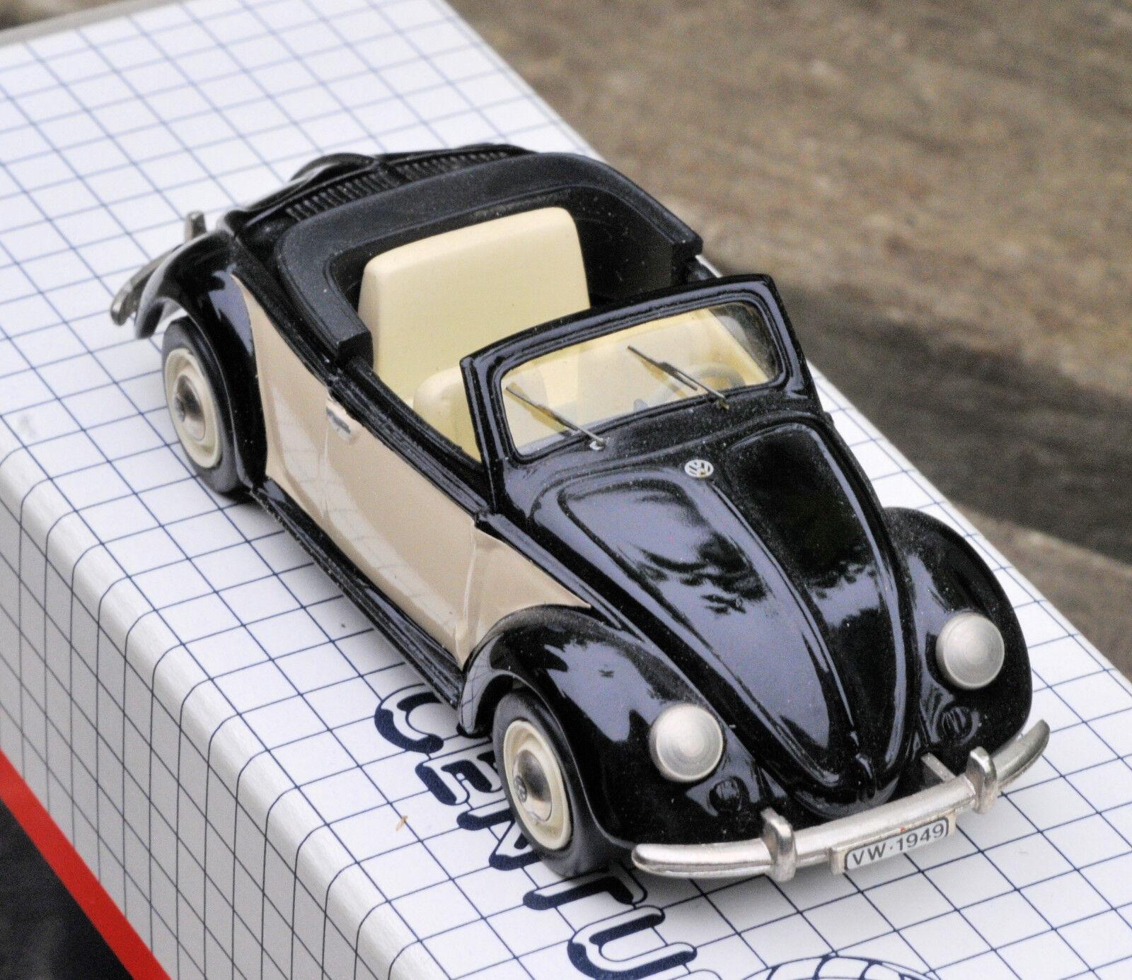AMR Century 1949 VolksWagen Hebmuller Cabriolet VW made in France 1 43 NMIB