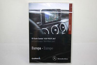 Amichevole Garmin ® Map Navi Start Sd Card 2017 Orginal Mercedes Benz Karminrot Molti Autoveicoli- Acquista One Give One