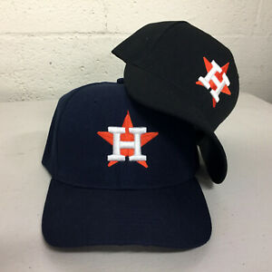ae708dc1ae523 Houston Astros Cap Logo Hat Embroidered Men Adjustable Curved H Star ...