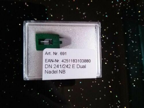 242 E  Nachbau für Dual DMS 240 E 241E 242 E Dual Abtastnadel DN 240 E //241 E