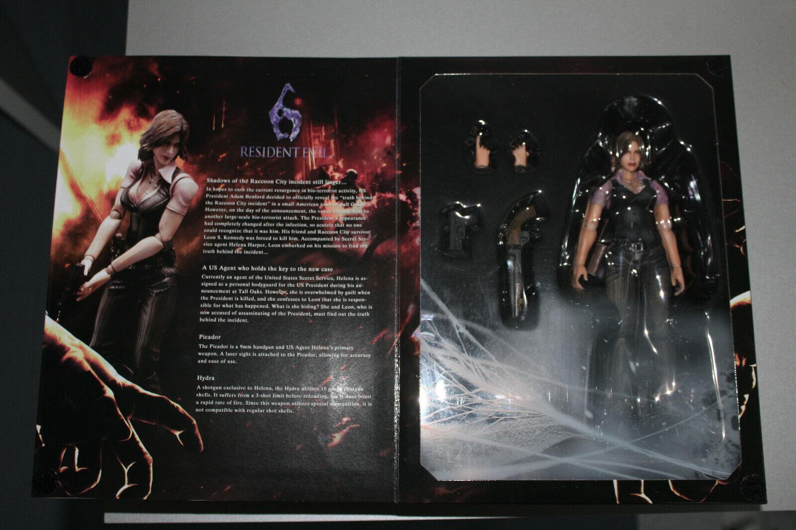 Resident Evil 6 VI Jugar Arts Kai Helena Harper Figurine Figura