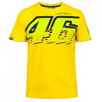 2017 Valentino Rossi VR46 The Doctor MotoGP 46 Motor Sports T-shirt Free Shippin