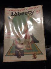MAGAZINE Liberty  Machine to end  war   NiKOLA TESLA   1935