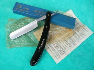 Vintage-Russian-Straight-Razor-034-Vostok-3-034-in-Original-Cases-USSR-1970-039-s-NOS