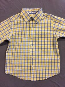 d7a18223 The Childrens Place Toddler Boy Long Sleeve Button Down Plaid Shirt ...