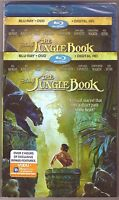 Disney The Jungle Book Blu-ray + Dvd + Digital Hd Brand