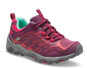 Ml-G Moab Low WTRPF Hiking Shoes, Berry