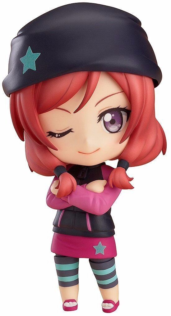 Nendoroid 572 LoveLive  Maki Nishikino Training Outfit Ver. Figure from Japan