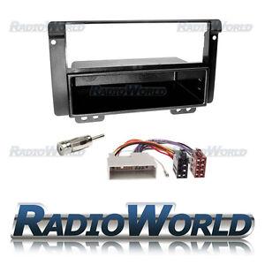 Land-Rover-Freelander-Stereo-Radio-Fitting-KIT-Fascia-Panel-Adapter-Single-Din