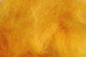 2m Chenille rayonne ORANGE  fly tying montage mouche