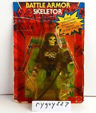 MOTU, Battle Armor Skeletor, Masters of the Universe, MOC, carded figure, sealed