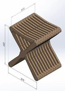 Tremendous Details About Cnc Router Laser Dxf Files Folding Chair Vectors 2D Woodworking Artcam Ibusinesslaw Wood Chair Design Ideas Ibusinesslaworg