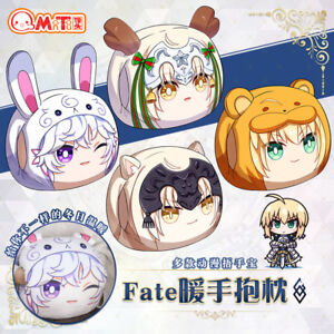 Fate Grand Order FGO Saber Joan of Arc Plush Pillow Cosplay Doll Toy【in stock】