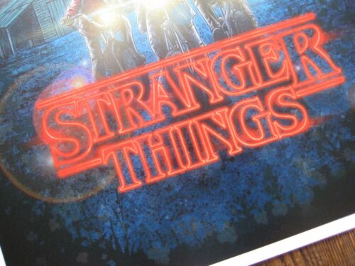 """Movie Collector/'s Poster Print 11/"""" x 17/"""" B2G1F Stranger Things"""