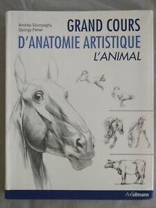 Grand-cours-d-039-anatomie-artistique-L-039-animal-Andras-Szunyoghy-Gyorgy-Feher