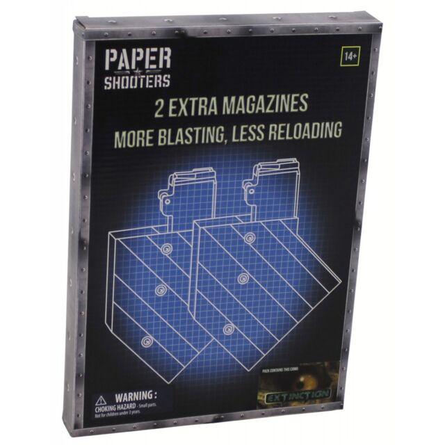"MFH PAPER SHOOTERS, Bausatz, ""Magazin-Extinction"", 2er Pack"