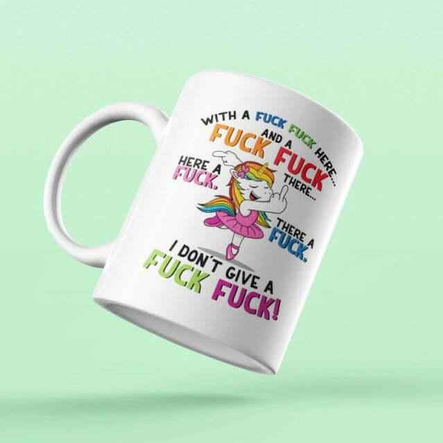 Coffee//Tea I DON/'T GIVE A FUC# FUC# Funny Gift Mug 11oz
