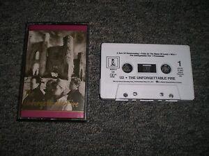 U2-The-Unforgettable-Fire-1984-Alternative-Rock-Cassette-Tape-FAST-SHIPPING