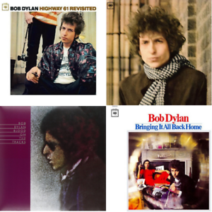Bob-Dylan-Classic-Album-Bundle-4-x-180-Gram-Vinyl-LP-039-s-NEW-amp-SEALED
