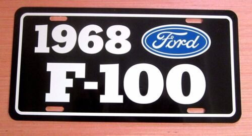 1968 Ford F-100 Pickup License plate tag 68  F100 Pick Up Truck Hot Rod Classic