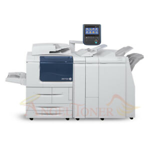 Details about Xerox D110 Digital Press Mono Production Printer Scanner  Copier 110PPM Low Meter