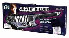 JUSTIN BIEBER PAPER JAMZ KEYBOARD GUITAR WITH 3 BONUS HITS - BRAND NEW IN BOX