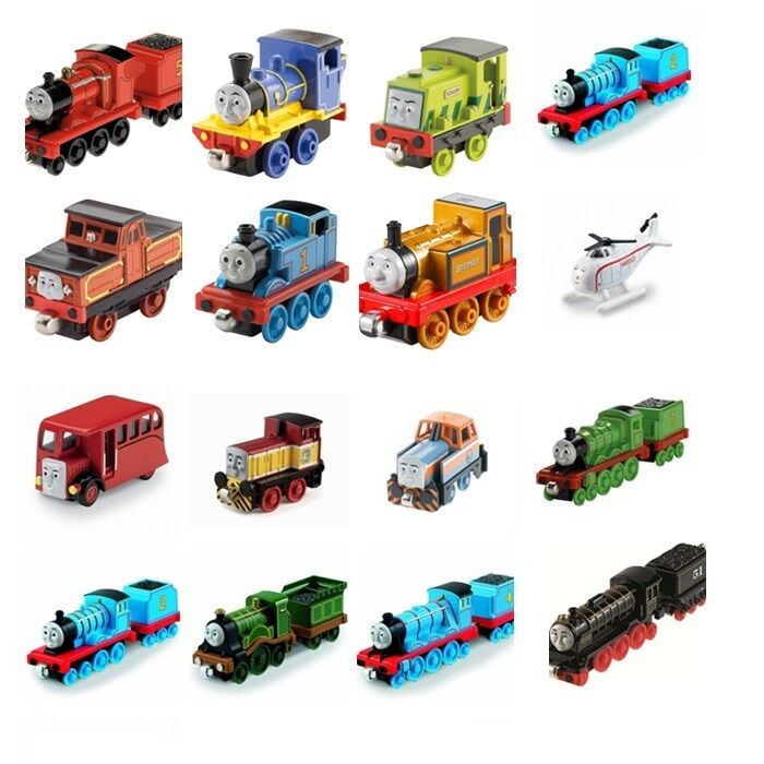 New Thomas And Friends Take-n-Play Adventures Magnetic Plastic connect Train