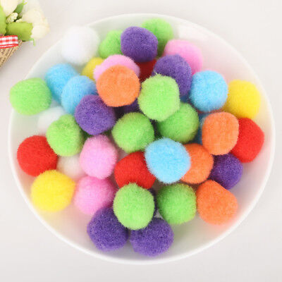 100Pcs//Set Wholesale High Quality 1cm Wool Felt Balls Handmade Random Colours