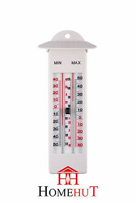 Outdoor Waterproof Max Min Digital Thermometer Garden Greenhouse Conservatory UK