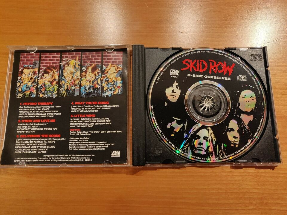Skid Row: B-Side Ourselves, rock