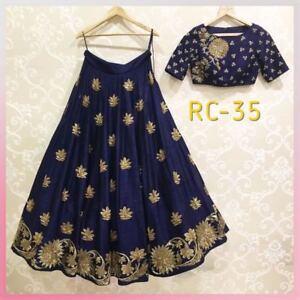 663cd1eb89f29a Image is loading Indian-Bollywood-Pakistani-Royal-Designer-Lehenga-Choli- Blouse-