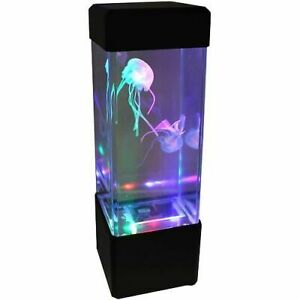 Jellyfish-Water-Aquarium-Tank-LED-Lamp-Relax-Bedside-Mood-Light-for-Home-D