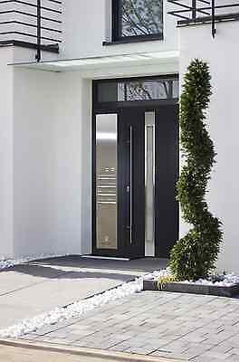 Offen Haustür 68mm Aluminium Haustüren, Model As02 Briefkasten Vsg Glas