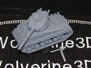 Flames Of War USA 1/100 M4A3E8 Sherman 76mm HVSS 15mm FREE SHIPPING