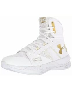under armour white and gold