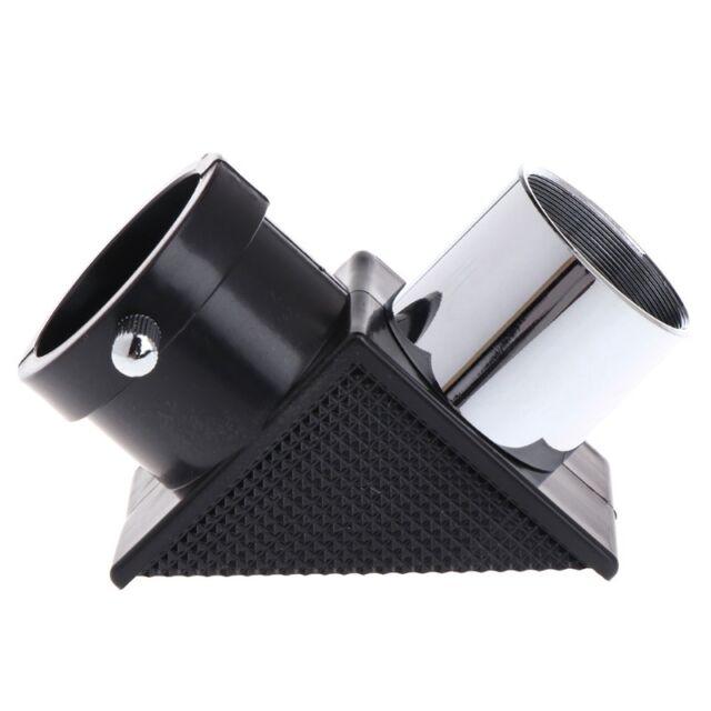 1.25 31.7mm 90 Degree Mirror Monocular Telescope Diagonal Adapter