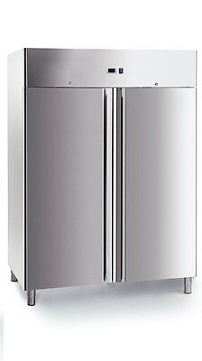 IGLOO  S.S. GASTRONORM COMMERCIAL FRIDGE & FREEZER PAIR  GN1210DTV 1300mm(w)