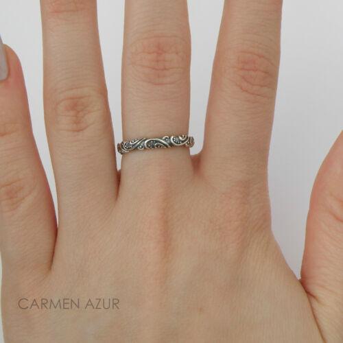 925 Sterling Silver Celtic Design Ring Size J,L,L1//2,M,N,N1//2,O,P,Q New,Gift Bag