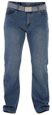 """D555 Extra Tall Jeans Gamba Dritta In Blu Classico (chicago) Girovita 32-50,l38""""-aist 32-50,l38"""" It-it Mostra Il Titolo Originale"""