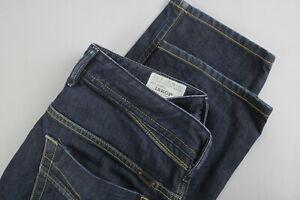 DIESEL-IAKOP-Regular-Slim-Tapered-0088Z-Uomini-W30-L32-Dark-Blue-Jeans-22177-JS
