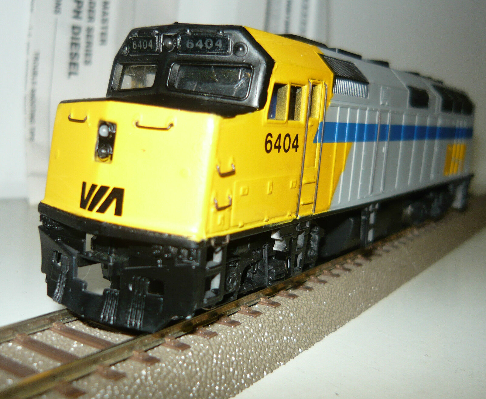 Bachmann Spectrum 87021 diesellok EMD f40ph diesel de la via, pista h0, neu&ovp