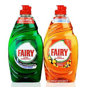 Fairy Ultra Concentrate Dish Washing Liquid Ebay