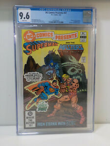 DC COMICS PRESENTS #47 KEY 1st APPEARANCE HE-MAN MASTERS OF THE UNIVERSE CGC 9.6