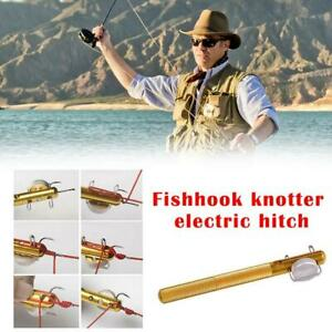 Practical Line Tying Knotting Tool Manual Portable Supplies Fishing Fast H7S0
