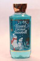 LOT 1 FROSTED COCONUT SNOWBALL BATH & BODY WORKS BODY WASH SHOWER GEL 10 FL OZ