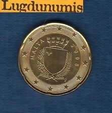 Malte 2008 - 20 centimes d'Euro - Pièce neuve de rouleau - Malta