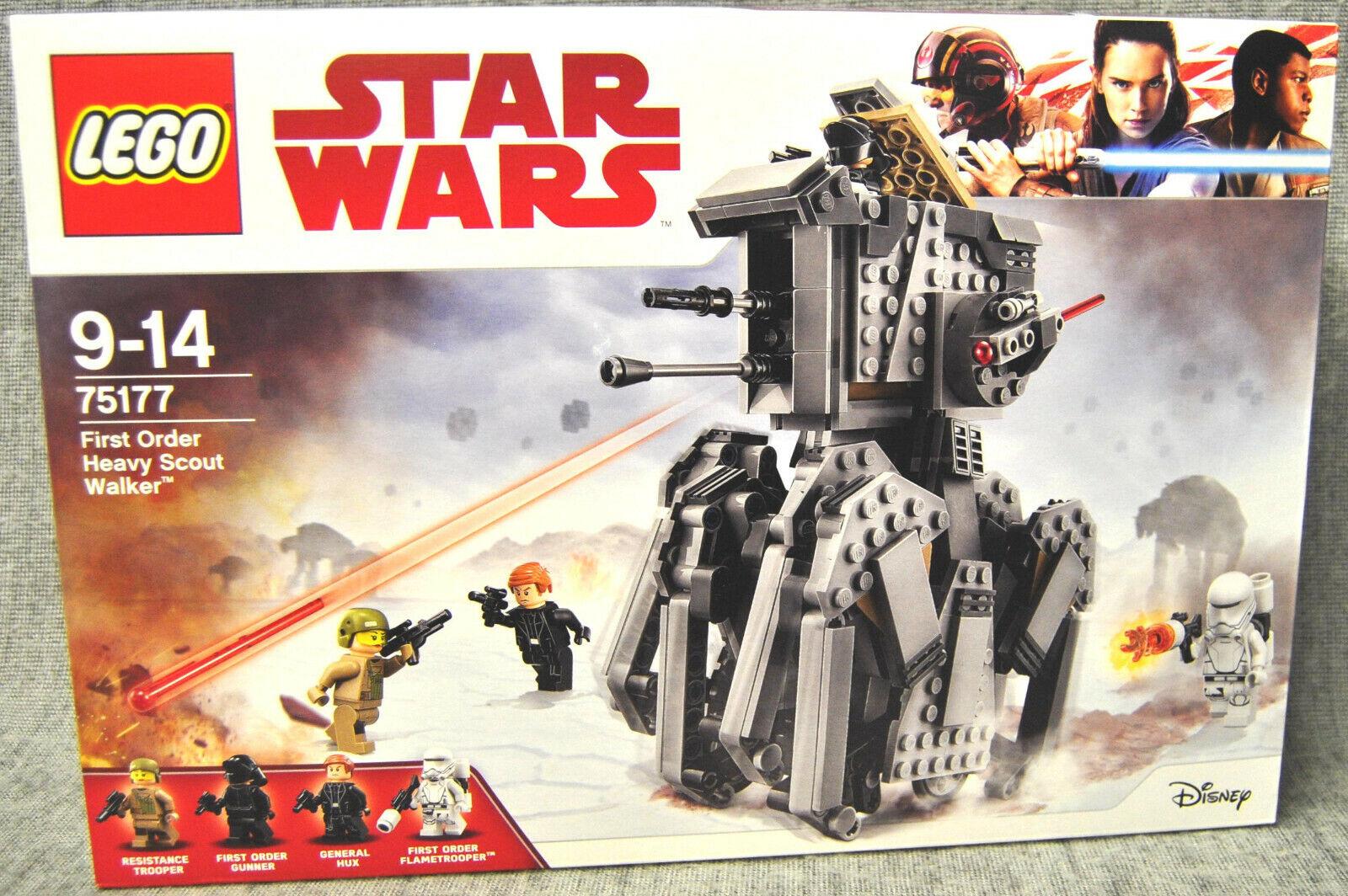 Lego 75177 First Order Heavy Scout Walker Star Wars Neu